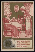 Victorian Trade Card 1880s J And P Coats Six Cord Thread Cotton Sewing Vtc-c99