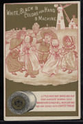 Victorian Trade Card 1880s J And P Coats Six Cord Thread Cotton Sewing Vtc-c105