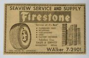 1959 Seaview Service And Supply Advertisement Linwood Nj