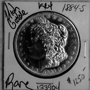 1884 S Morgan Silver Dollar High Grade Key Date Rare Us Coin Free Ship 123904
