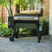 Pellet Grill In Bronze Set It And Forget It Smoke Bake Roast Braise And Bbq