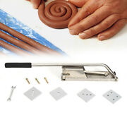 4-layer Mold Ceramic Pottery Soft Clay Extruder Mud Tool Machine Stainless Steel