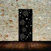 Metal Privacy Screen Outdoor Metal Panel Star Flower Privacy Panel
