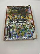Pokemon Platinum Version Nintendo Ds Official Strategy Guide Book Used W/ Map