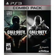 Call Of Duty Black Ops 1 And 2 Combo Pack [m]
