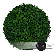 Boxwood Topiary Ball - 11 Artificial Topiary Plant - Wedding Dec