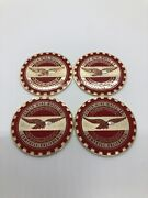Zenith 2.25 Metal Chip Emblem Original Style Red W White Head And Gold