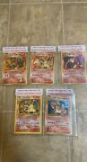 Charizard Card Collection. Never Removed From Sleeves. Excellent Condition