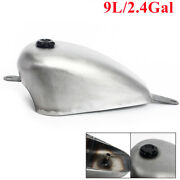 9l 2.4gal 8cm Deep Fuel Gas Tank And Cap For Honda Iron Horse Steed Vlx400 Vlx600