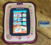 Vtech Innotab 2 Learning Tablet With Game -tested No Stylus Pen-b31