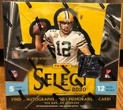 2020 Panini Select Football Hobby Box Fotl First Off The Line 1st Sealed Nfl