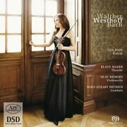 Walther / Westhoff / Bach-works For Violin - Uta Pape Violin Cd New