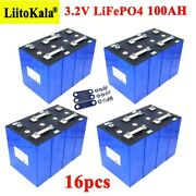 Lot 3.2v 100ah Lifepo4 Battery Pack Iron Phosphate Motorcycle Electric Car Solar