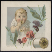 Victorian Trade Card 1880s J And P Coats Six Cord Thread Sewing Cotton Vtc-c184
