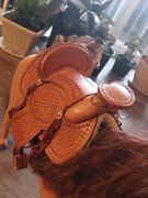 Saddle For Toy Horse..handmade Just De Horse Saddle It'is For Sale Not The Hors