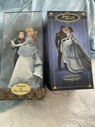 Disney Store Fairytale Designer Collection Doll Set Cinderella And Charming