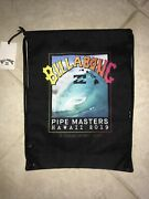 Nwt 2019 Billabong Pipe Masters Draw String Bag Andy Irons Pipeline