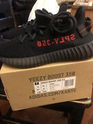 Brand New Adidas Yeezy Boost 350 V2 And039bredand039 - Size 5