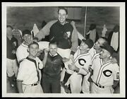 Bob Feller 1938 Record 18 Kand039s Indians Type 1 Original Photo Crystal Clear