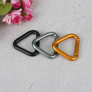 Triangle Carabiner Outdoor Camping Hiking Keychain Kettle Buckle Snap Clio`f8