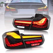 Vland Gts Oled Style Full Led Smoke Sequential Tail Light For 12-18 Bmw F30 F80