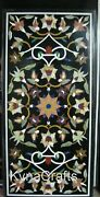 30 X 60 Inch Dining Table Top Pietra Dura Art Marble Center Table For Home Decor