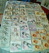 Over 550 German Christmas Holiday Children Decoupage Craft Paper Napkins Lot