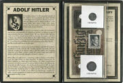 World War Ii Certified Two German Coins 110 Rp And 50 Reichsmark Bill And Stamp