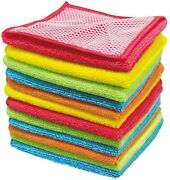 Kitchen Towels Dish Cloths, Super Absorbent Soft And Fast Drying Dish Towels, Cl