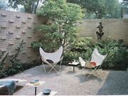 Mid Century Modern Landscaping Architecture Eames Era Patio Outdoor Furniture