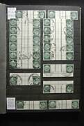 Lot 26657 Stamp Collection German Reich Combinations Used.