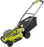 Ryobi P1100a 16 In. One+ 18-volt Lithium-ion Cordless Battery Lawnmower