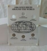 Capital Plastic Holder For Six Tenth Ounce 1/10 Ounce Gold Coins Of The World