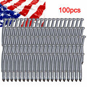 100pc Dental High Speed Handpieces Push Clean Head 4h Fit Nsk Pana Ip3r