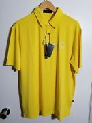 1 Nwt 1914 Collection Men's Polo, Size Large, Color Yellow J269