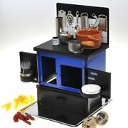 K's Collection Miniature Kitchen Stoves Blue Hand Made Toy From Japan New A503