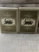 Vnt. Avon Iron Horse Shaving Mugs And Avon Blend 7after Shave Set Of Two