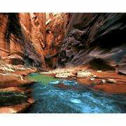 Rock Landscape Scenery Oil Painting Hobby Art Craft Set Diy Paint By Numbers Kit