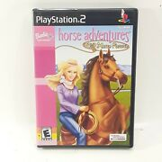 Barbie Horse Adventures Wild Horse Rescue Playstation 2 Ps2 Complete Tested