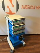 Valleylab Mw Ablation System Cart Consoles And Pump