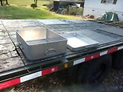 Military Surplus Kitchen M59 Field Range Pot With Griddle Lid Mkt Trailer Army