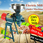 1500w Electric Feed/flour Mill Dry Cereals Grinder Machine With Funnel 220v