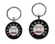Ford Econoline Speedometer Image Key Ring Necklace Cufflinks Button Jewelry Sets
