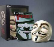 V For Vendetta Book And Mask Set By Alan Moore English Free Shipping