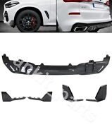 X5 G05 Bmw 2018+ Body Kit M Perfomance Style Diffuser Fangs