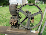 C1911 Eclipse Pumper Early No. 1 Pump Jack W/ Hit And Miss Engine Fairbanks Morse