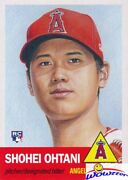 2018 Topps Living Set 7 Shohei Ohtani Rookie Mint La Angels 1953 Style Sold Out