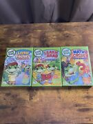 Leap Frog - Math Circus, Learn To Read, Letter Factory Brand New Sealed