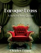 Baroque Brass A Suite For Brass Quintet English Hardcover Book Free Shipping