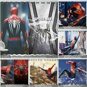 2 Pack Spider-man Blackout Window Curtain Panel Drapes House Decoration 42andrdquow